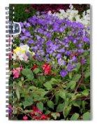 European Markets - Fuchsias Spiral Notebook