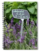 European Markets - Lavender Spiral Notebook