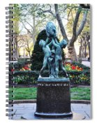 Evelyn Taylor Price Sundial Spiral Notebook