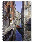 Even A Gondolier Has To Take A Break Spiral Notebook