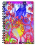 Even In Chaos Find Love Spiral Notebook