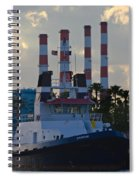 Evening At The Broward Spiral Notebook