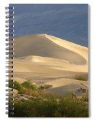 Evening Dune Spiral Notebook