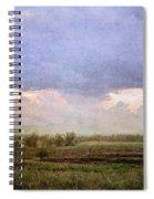 Evening Field Spiral Notebook