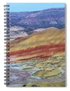Evening In The Painted Hills Spiral Notebook