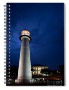 Evening Lighthouse Spiral Notebook