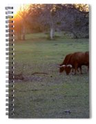 Evening Meal Spiral Notebook