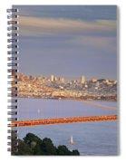 Evening Over San Francisco Spiral Notebook