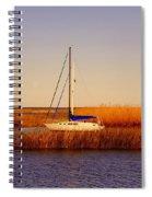 Evening Peace Spiral Notebook