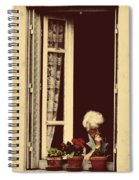 Evening Reading Spiral Notebook