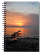 Evening Rest Spiral Notebook