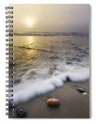 Evening Rush Spiral Notebook