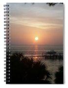 Evening Sail Spiral Notebook