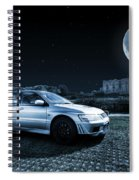 Evo 7 At Night Spiral Notebook