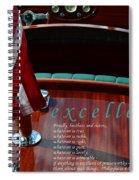Excellence Spiral Notebook