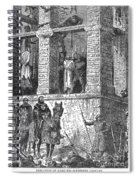 Execution Of Heretics Spiral Notebook