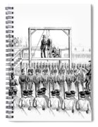 Execution Of John Brown, American Spiral Notebook