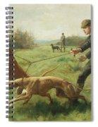 Exercising Greyhounds Spiral Notebook