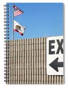Exit Spiral Notebook