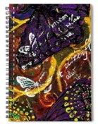 Exotic Butterflies I Spiral Notebook