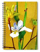Exotic Flowers Spiral Notebook