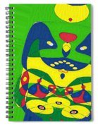 Expecting Twins Spiral Notebook