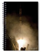 Expedition 16 Lifts Off Spiral Notebook