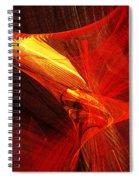 Explosive Dance Spiral Notebook