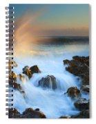 Explosive Dawn Spiral Notebook
