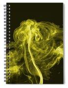 Explosive Yellow Spiral Notebook