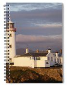 Exterior Of Fanad Lighthouse Fanad Spiral Notebook
