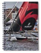 Extreme 40 Team Alinghi 2 Spiral Notebook