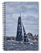 Extreme 40 Team Groupe Edmond De Rothschild Spiral Notebook