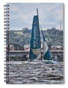 Extreme 40 Team Oman Air Spiral Notebook