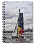Extreme 40 Team Red Bull Spiral Notebook