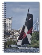 Extreme 40 Team Wales 2 Spiral Notebook