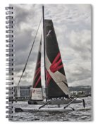 Extreme 40 Team Wales Spiral Notebook