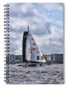 Extreme 40 Team Zoulou Spiral Notebook