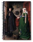 Eyck: Arnolfini Marriage Spiral Notebook