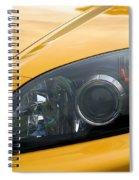 Eye Of A Car Spiral Notebook