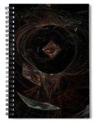 Eye Of Chaos Spiral Notebook