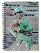 Eye On The Ball Digital Art Spiral Notebook