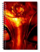 Eyes Behind The Mask Spiral Notebook