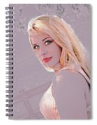 Eyes Of Beauty Spiral Notebook