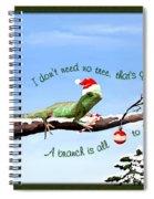 Ezekiels Christmas Spiral Notebook