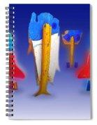 Fab Four Spiral Notebook