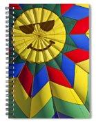 Face Inside Hot Air Balloon  Spiral Notebook