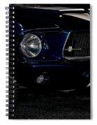 Face Of A Cobra Spiral Notebook