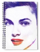 Face Of Beauty Spiral Notebook