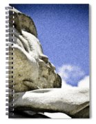 Face Of Courage Spiral Notebook